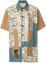 Antonio Marras patchwork short sleeve shirt