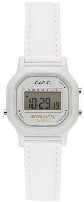 Casio Women's White Digital Watch