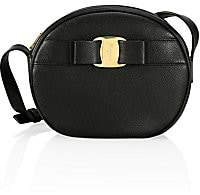 Salvatore Ferragamo Women's Vara Circle Leather Crossbody Bag