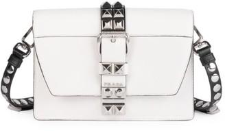 Prada Small Elektra Leather Crossbody Bag