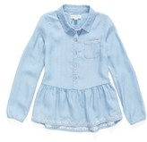 Tucker + Tate Toddler Girl's Chambray Top