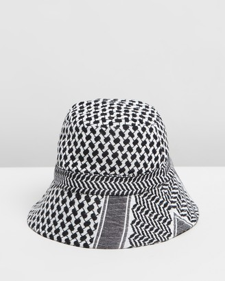 Cecilie Copenhagen Women's White Hats - Mucca Bucket Hat - Size One Size at The Iconic