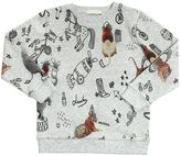 Stella McCartney Circus Print Organic Cotton Sweatshirt