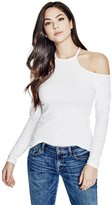 GUESS Jasmine Cold-Shoulder Top