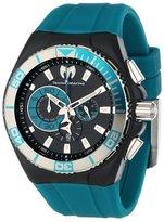 Technomarine Men's 112010 Cruise Locker Nylon Strap with Key Ring Watch