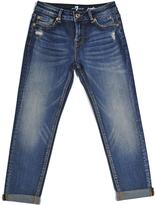 7 For All Mankind Icelandic Blue Josefina Skinny Jeans - Girls