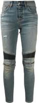 Amiri skinny knee-zip jeans