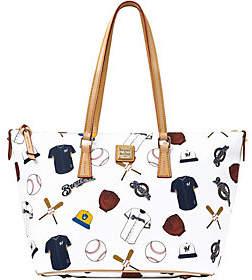 Dooney & Bourke MLB Brewers Zip Top Shopper