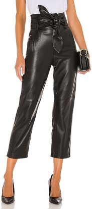 Marissa Webb Brennan Leather Pant