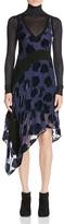 DKNY Velvet Rose Burnout Dress