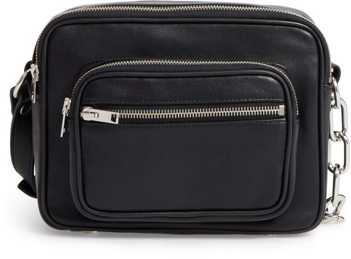 Alexander Wang Washed Leather Crossbody Bag