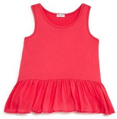 Splendid Girls' Ruffle Hem Tank - Big Kid