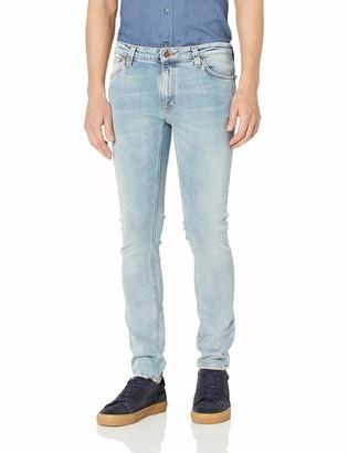 Nudie Jeans Men's Skinny Lin Light Blue Pwr 29/30