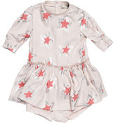 Stella McCartney Cosmic Star Jersey Play Dress, Pearl Pink, Size 9-24 Months