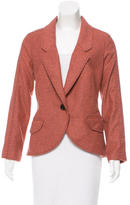 Proenza Schouler Striped Virgin Wool Blazer