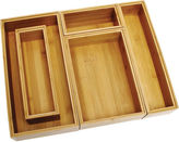 Lipper Bamboo 5-pc. Organizing Box Set