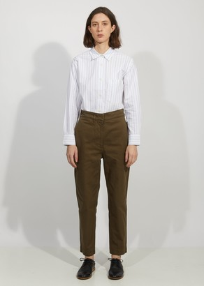 Mhl By Margaret Howell Cinched Back Tapered Trouser