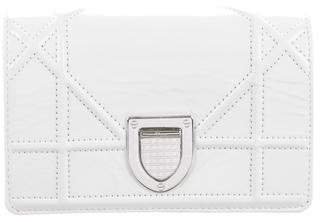 Christian Dior Patent Leather Diorama Pouch