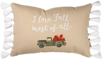 Primitives By Kathy I Love Fall Most Pillow