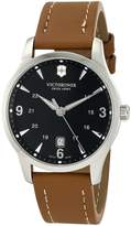 Victorinox Men's Alliance Dial Strap Watch Black V251475