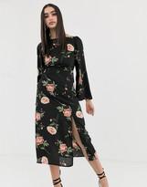 Fashion Union backless midi dress