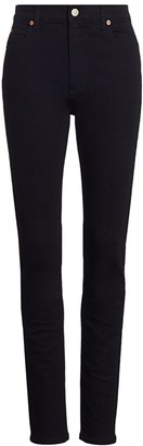 Gucci G-Rhombus Back Patch Skinny Jeans