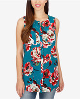 Lucky Brand Floral-Print Tunic