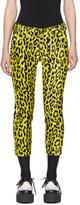 Junya Watanabe Yellow Leopard Trousers