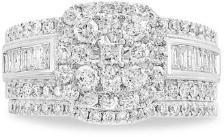 Effy 14K White Gold Diamond Engagement Ring Set