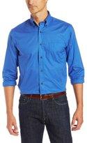 Nautica Men's Long-Sleeve Mechanical Stretch Solid Shirt