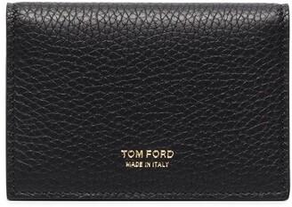 Tom Ford Pebbled Leather Billfold Wallet