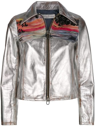 Golden Goose Mira sunset print jacket