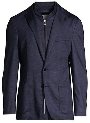 Corneliani Wool Pique Blazer
