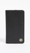 Tory Burch Parker Leather Folio iPhone 7 Case