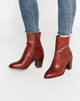 Aldo Fearien Leather Heeled Ankle Boots