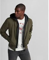Express hooded bomber jacket