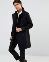 French Connection Cotton Trench Trench Coat