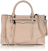 Rebecca Minkoff Regan Nude Leather Satchel Bag