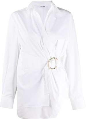 Each X Other Belted Wrap Shirt