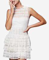 Free People Meet Me At Midnight Tiered Eyelet Dress