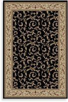 Bed Bath & Beyond Concord Global Veronica Rug in Black