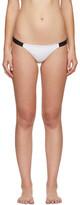 Ward Whillas Reversible White & Black Dalton Bikini Bottoms
