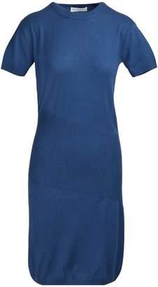 Alexandra Golovanoff China 3/4 sleeved midi dress