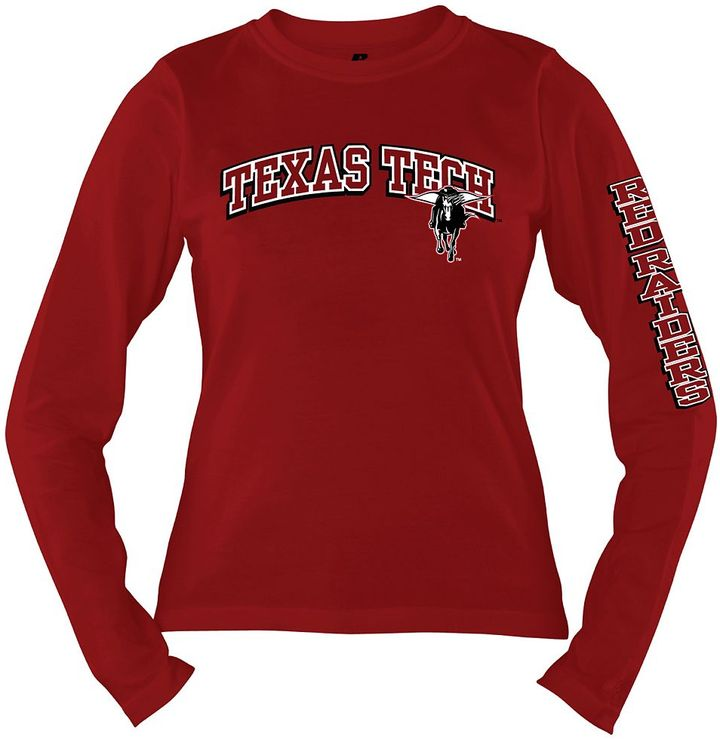 Russell Athletic texas tech red raiders tee - women