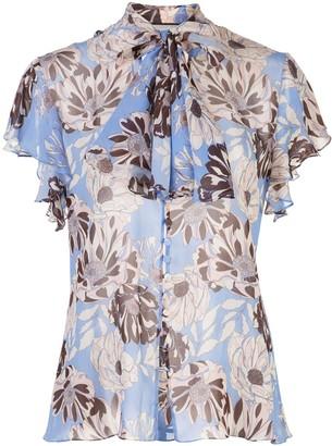 Alexis Dessie floral print blouse