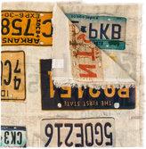 Faliero Sarti license print scarf - unisex - Cotton - One Size