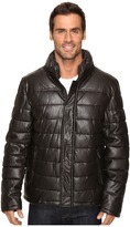 Dockers Fly Front Quilted Puffer w/ Sherpa Lined Collar