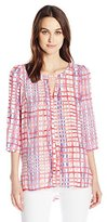 Plenty by Tracy Reese Women's Peek-a-Boo Kurta Xs-L