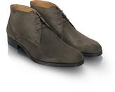 Moreschi Stiria - Gray Suede Ankle Boots