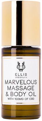 Ellis Brooklyn Marvelous CBD Massage and Body Oil